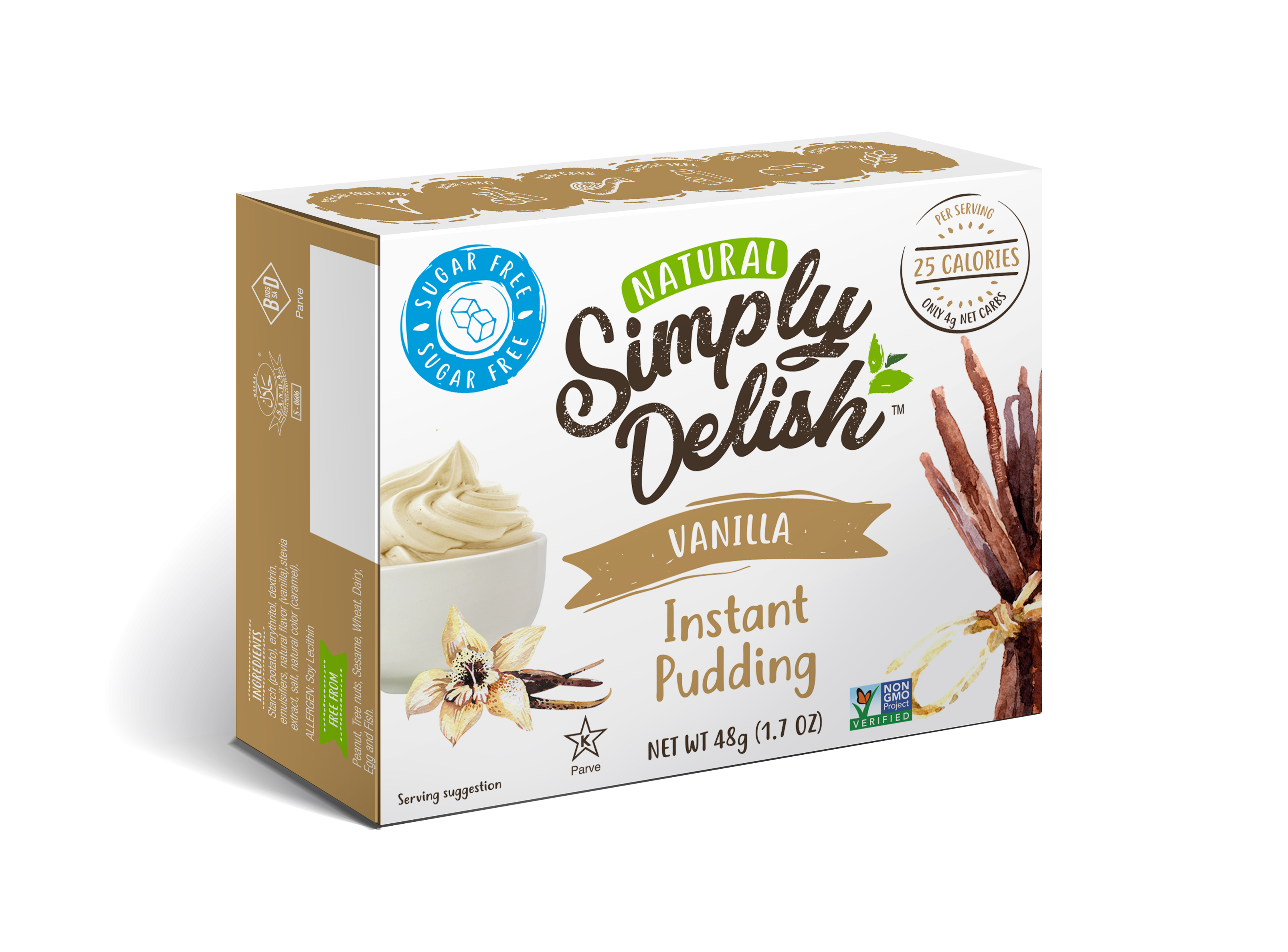 NATURAL VANILLA INSTANT PUDDING | The Natural Products