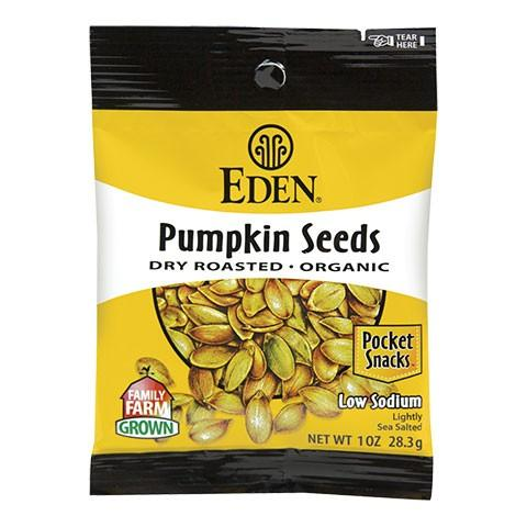 Organic Dry Roasted and Salted Pumpkin Seeds