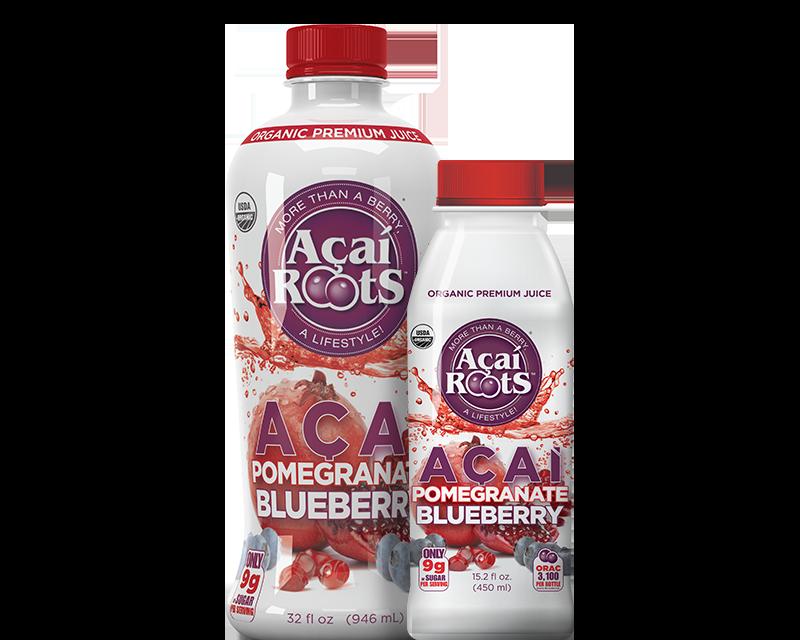 organic premium AÇAÍ+POMEGRANATE+ BLUEBERRY JUICE