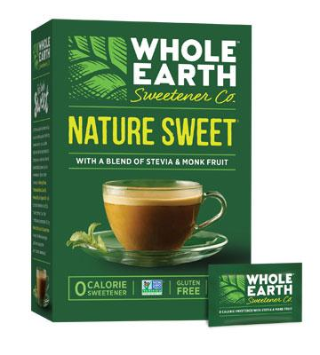 Nature Sweet With A Blend Of Stevia & Monk Fruit