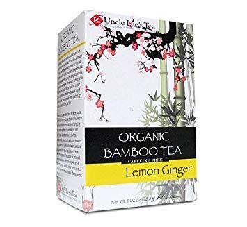 Organic Bamboo Tea Lemon Ginger Flavor
