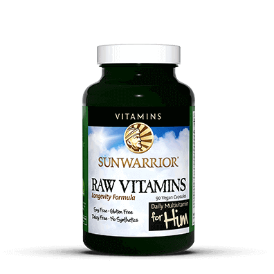 Raw Vitamins Vegan Capsules for Him