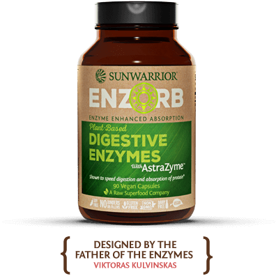 Enzorb - Plant-based Digestive Enzymes With Astrazyme Vegan Capsules
