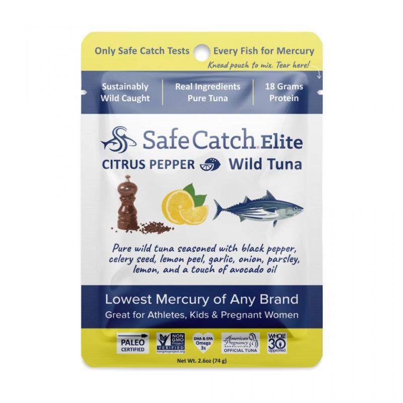 Seasoned Elite Tuna Pouch – Citrus Pepper
