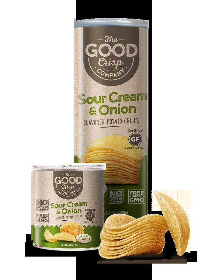 Potato Crisps - Sour Cream and Onion