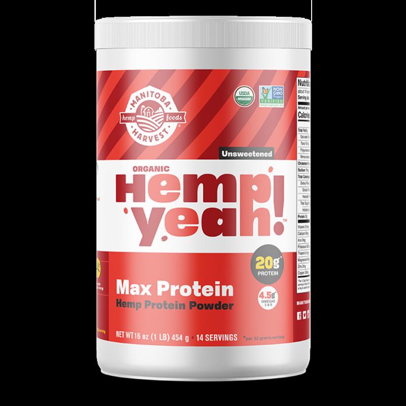Hemp Yeah! Max Protein Unsweetened