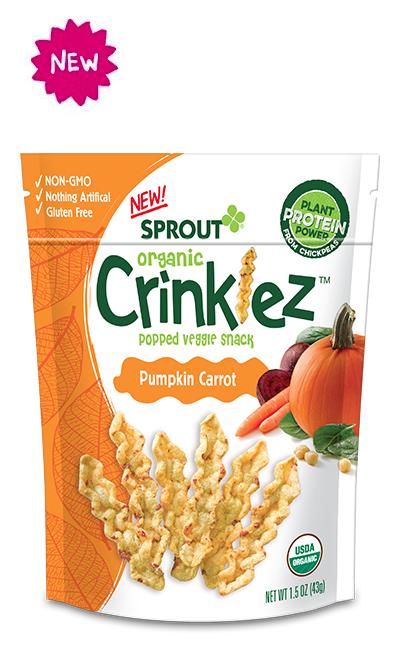 Pumpkin Carrot Crinklez