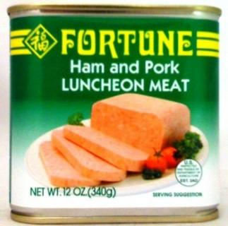 Ham And Pork Luncheon Meat