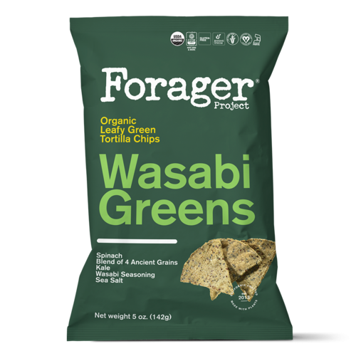Organic Wasabi Greens