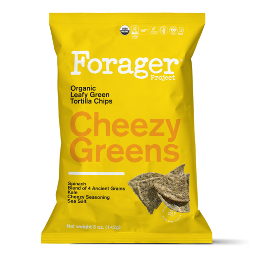 Organic Cheezy Greens Vegetable Chips