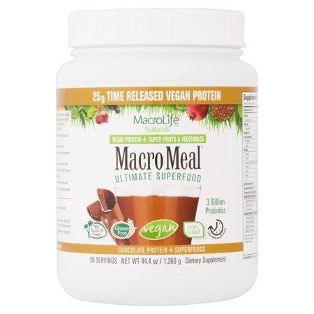 Macro Meal - Vegan Chocolate 28 Serving Size
