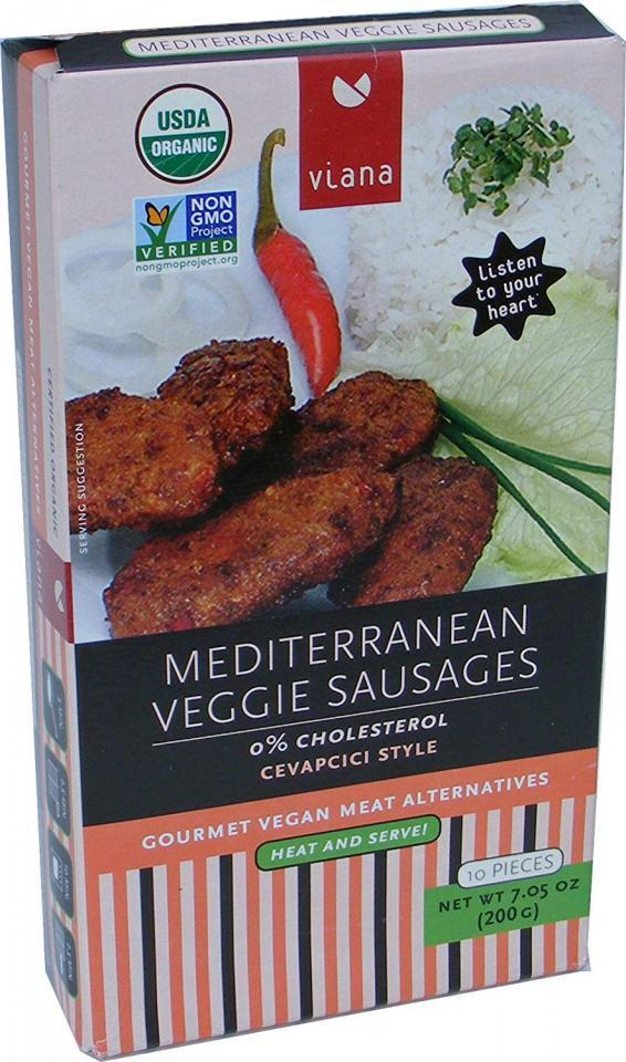 Mediterranean Veggie Sausages