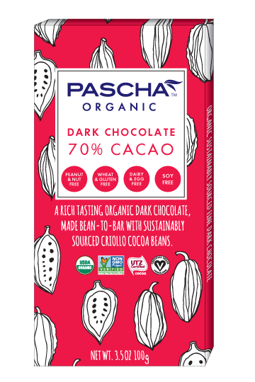 Organic 70% Cacao Dark Chocolate
