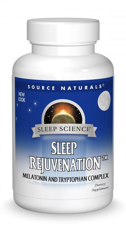 Sleep Science Sleep Rejuvenation Melatonin And Tryptophan Complex Dietary Supplement