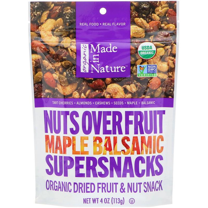 Nuts Over Fruit Supersnacks, Maple Balsamic