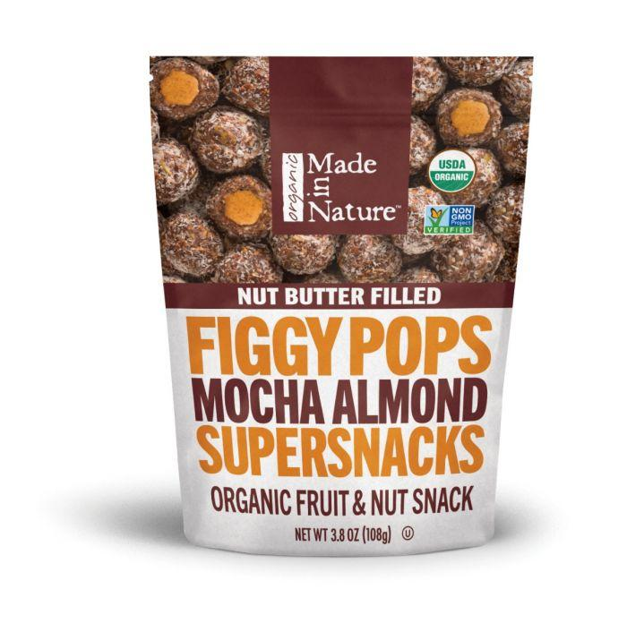 Mocha Almond Nut Butter Filled Figgy Pops