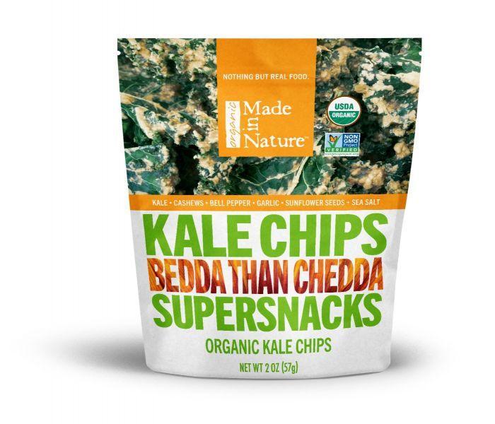 Bedda Than Chedda Kale Chips