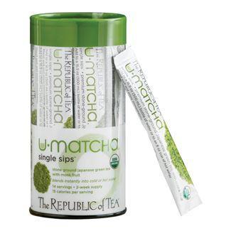 Organic U•Matcha® Single Sips