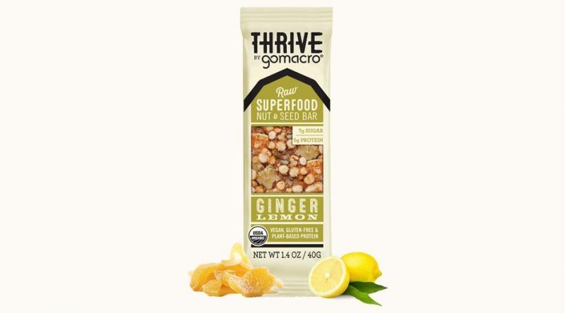 Raw Superfood Nut & Seed Bar  - Ginger Lemon