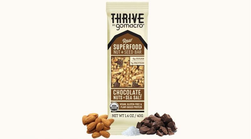 Raw Superfood Nut & Seed Bar - Chocolate, Nuts & Sea Salt