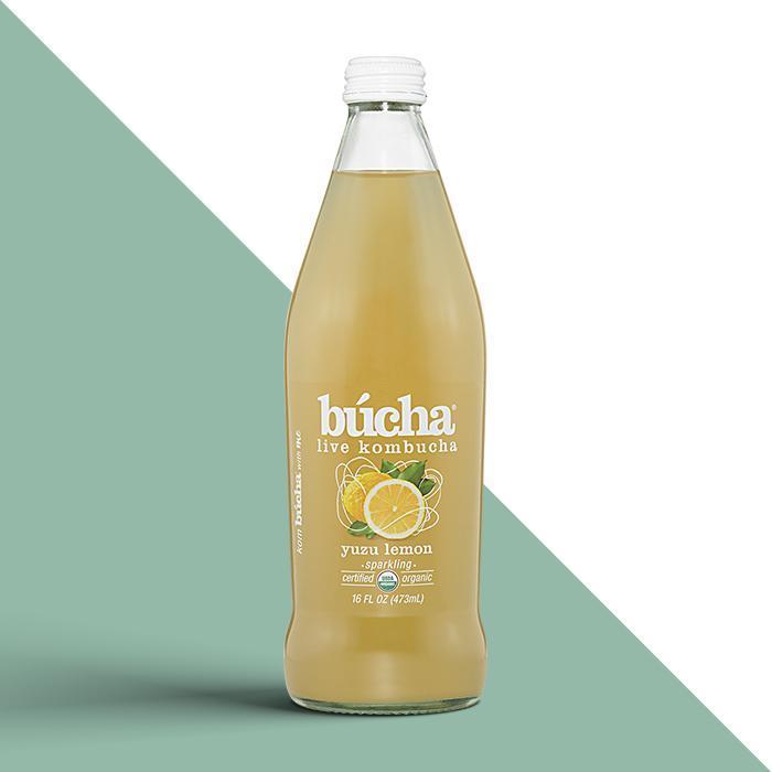 Bucha Yuzu Lemon Kombucha Tea