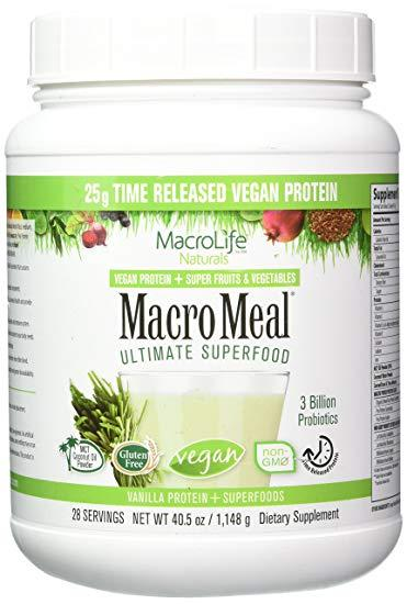 MacroMeal  - Vegan Vanilla 28 Servings