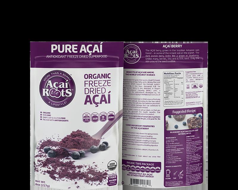 Organic Freeze Driied Acai