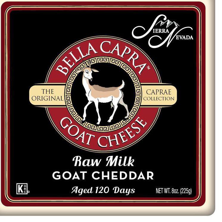 Raw Goat Milk Cheddar