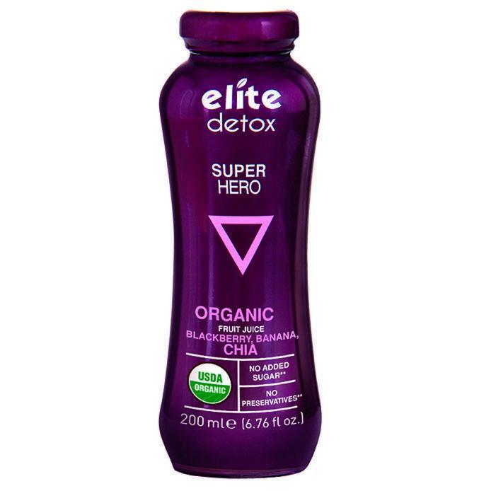 Detox Organic Fruit Juice - Super Hero