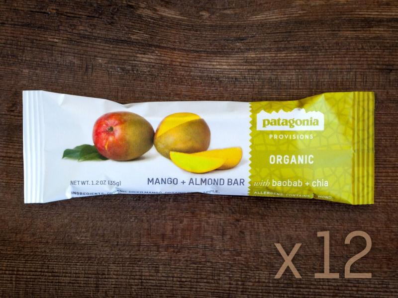 Mango + Almond Bar