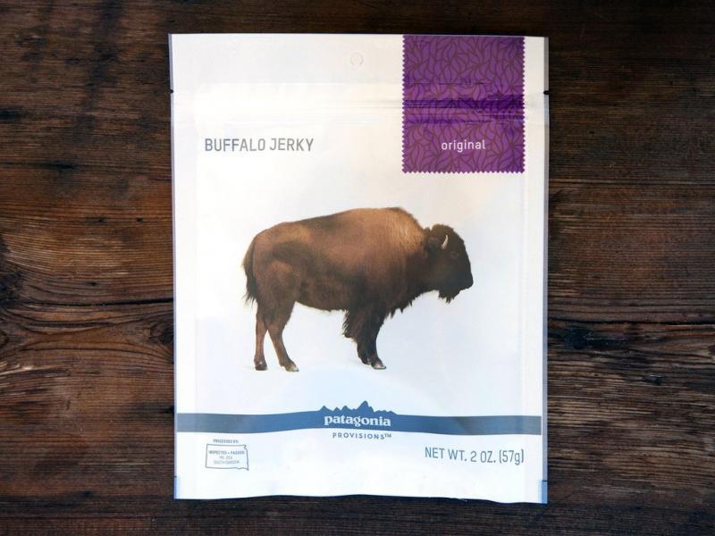 Buffalo Jerky, Original Flavor