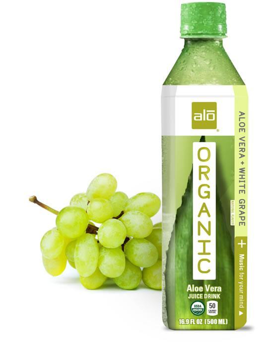 ALO Organic - Aloe Vera + White Grape