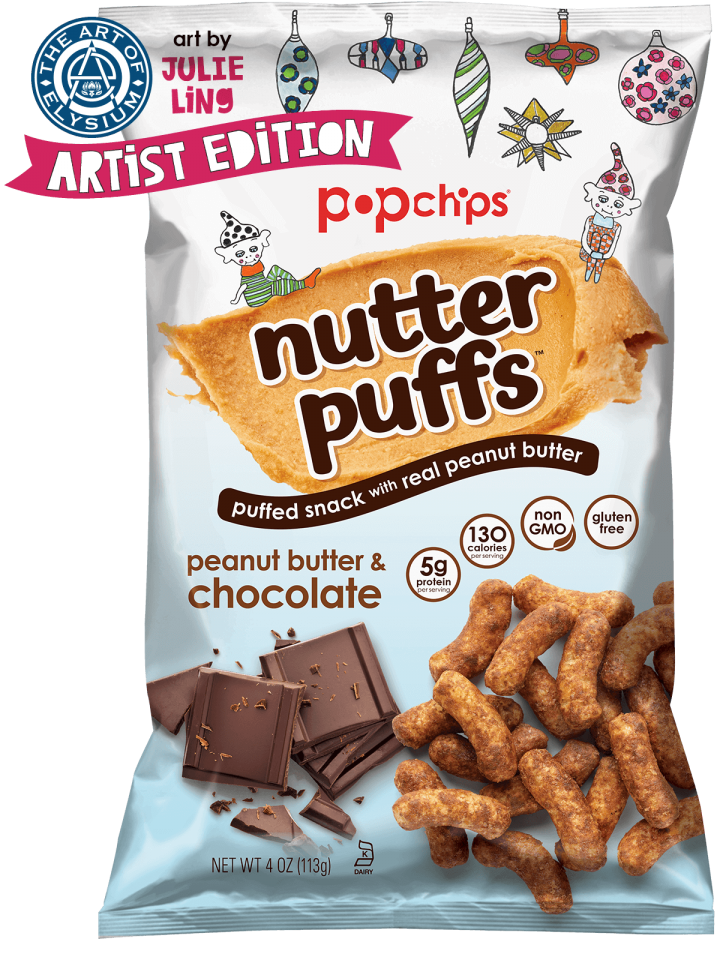 Peanut butter & chocolate - Puffed Snack