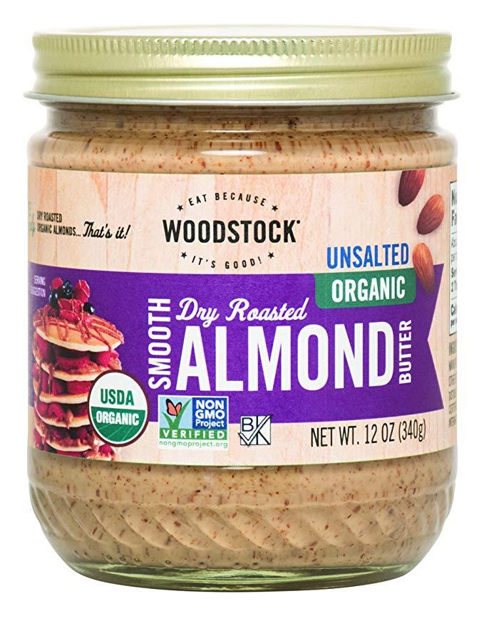 Smooth Dry Roasted Almond Butter