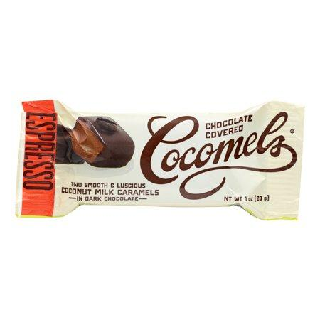 Chocolate Covered Coconut Milk Caramels