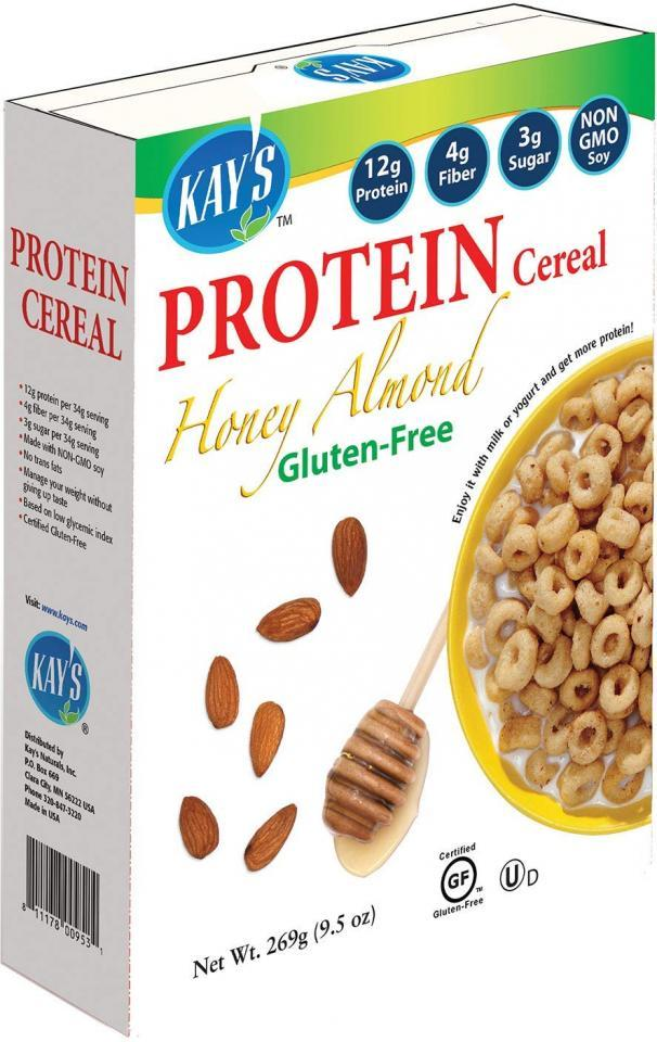 Honey Almond High-Protein Gluten-Free Cereal