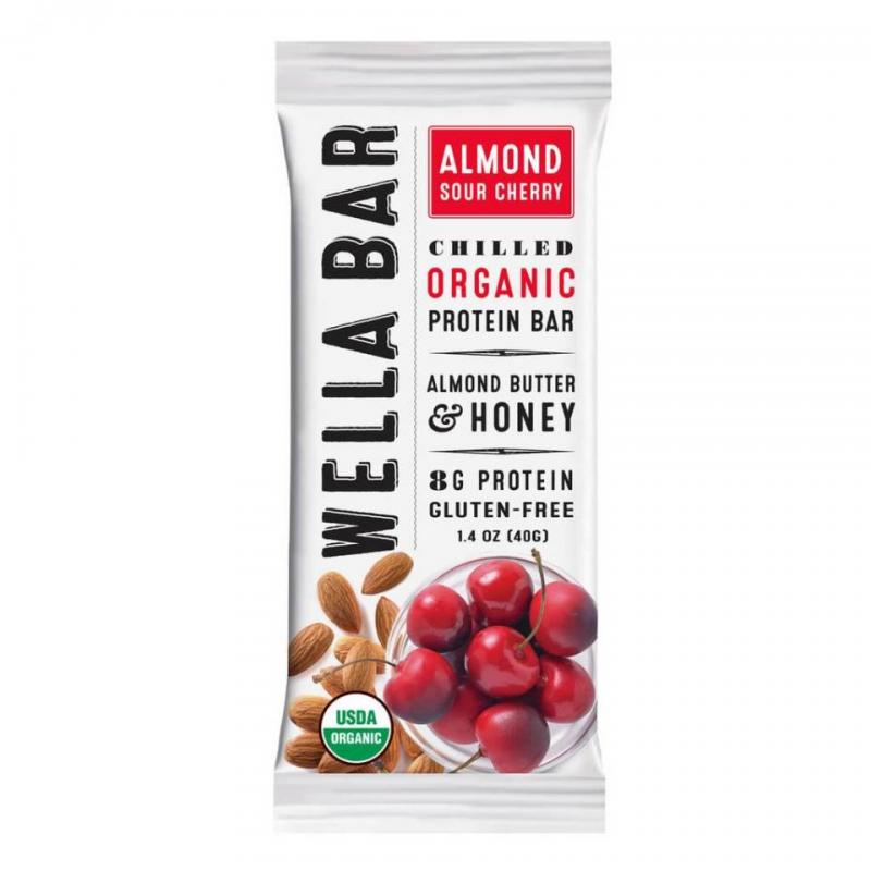 Chilled Organic Protein Bar - Almond Sour Cherry