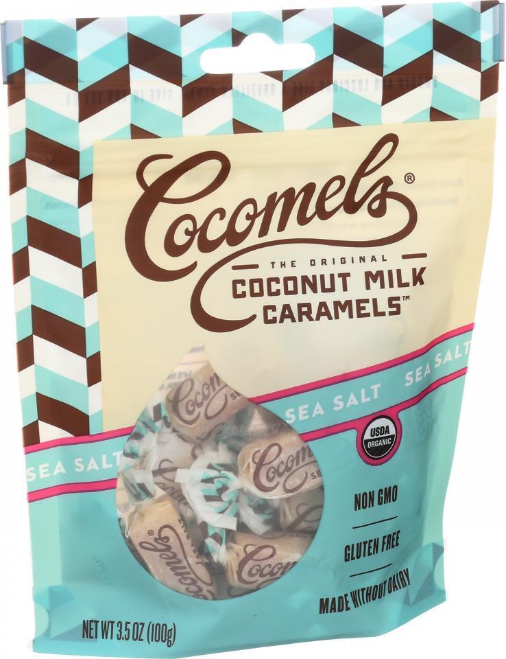 Coconut Milk Caramels - Cocomel Bites  - Sea Salt
