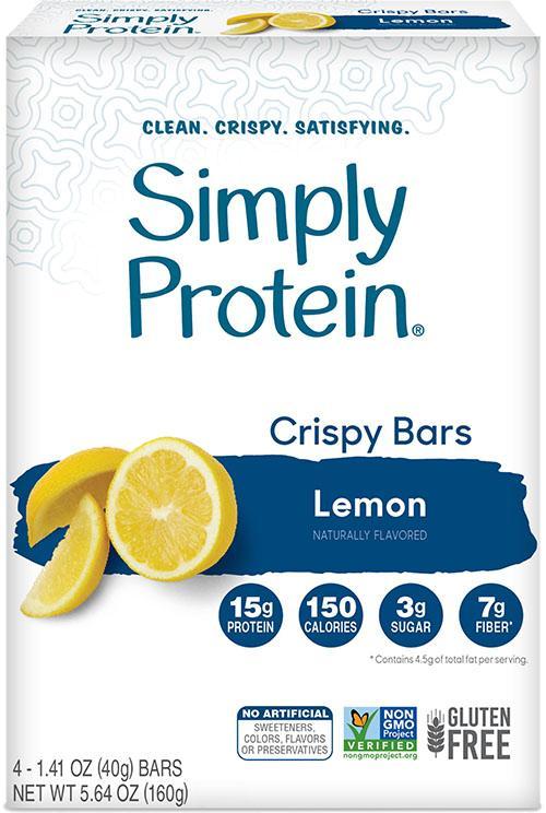 Crispy Bars Lemon