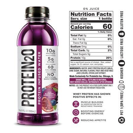 Protein Infused Water - Acai Blueberry Pomegranate