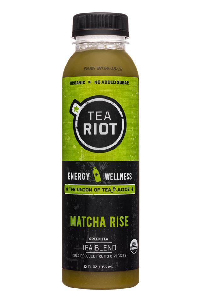 Tea, TeaRiot Matcha Rise
