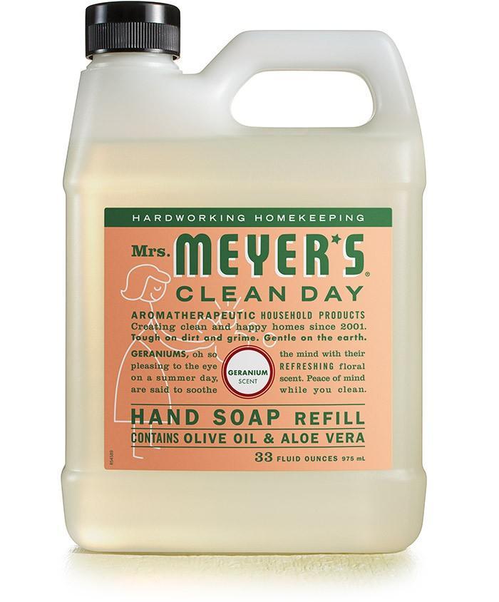 Geranium Hand Soap Refill
