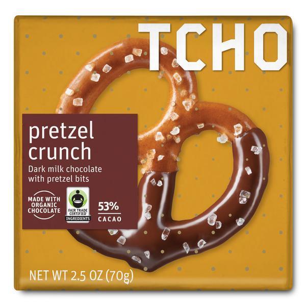 """Milk Chocolate """"Pretzel Crunch"""
