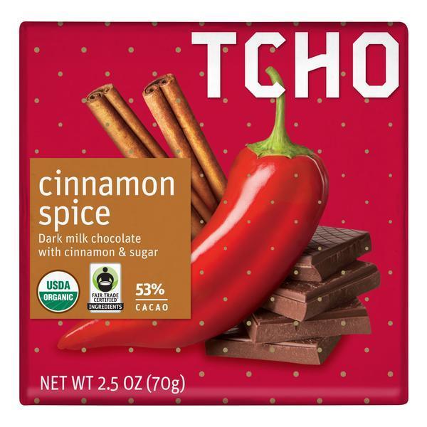 "Milk Chocolate ""Cinnamon Spice"