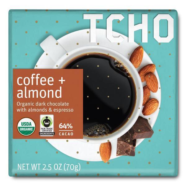 "Dark Chocolate ""Coffee + Almond"""