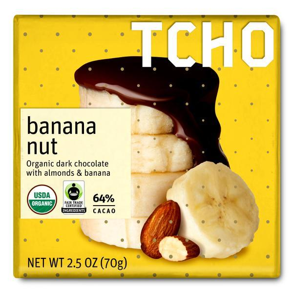 "Dark Chocolate ""Banana Nut"""