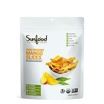 Raw Organic Mango Slices