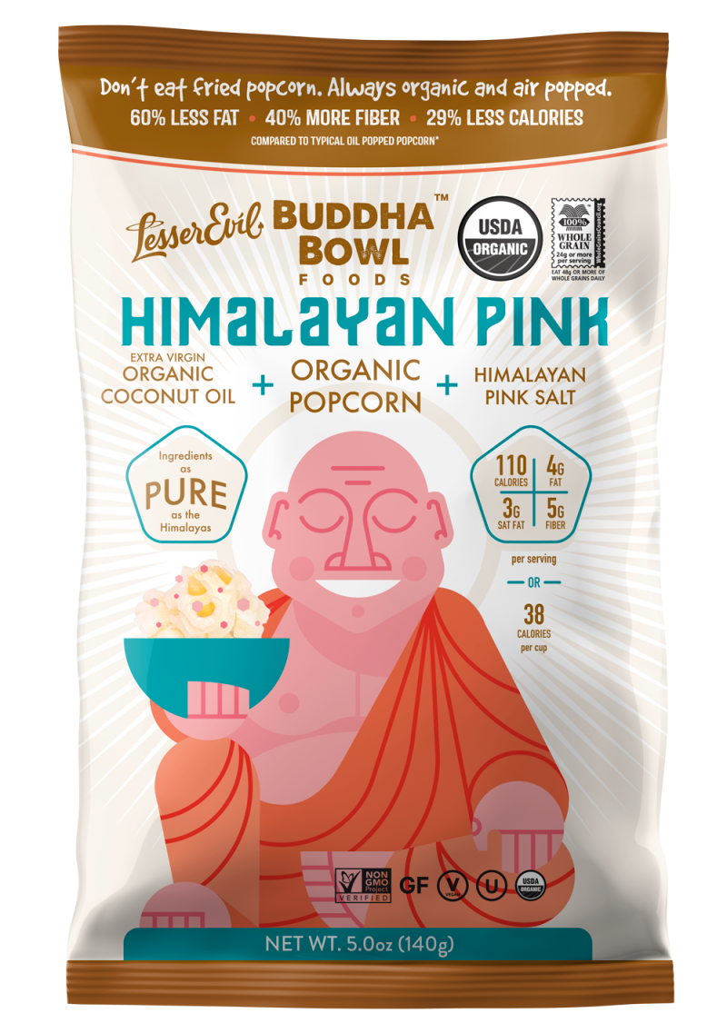 Himalayan Pink Organic Popcorn