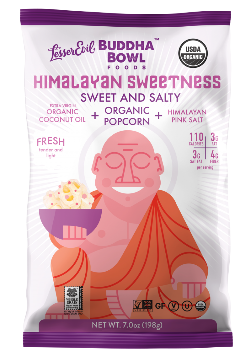 Himalayan Sweetness Organic Popcorn