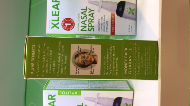 Natural Saline Nasal Spray